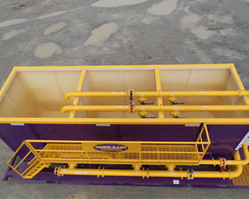 135 BBL Blender  - Tanks-A-Lot, Deepwater Container Specialists