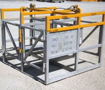 5' X 5' Drum Rack (4 Drums) - Tanks-A-Lot, Deepwater Container Specialists
