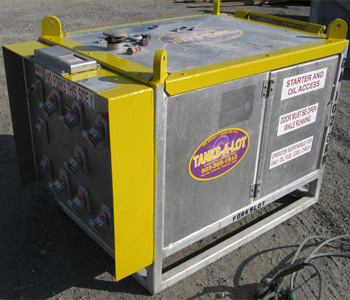 6KW Offshore Diesel Generator w/ Appleton Connections - Tanks-A-Lot, Deepwater Container Specialists