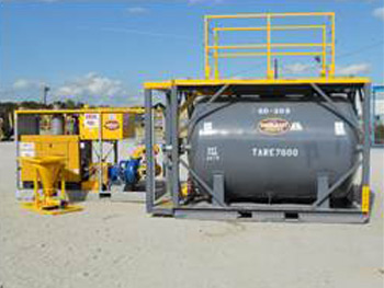 50 bbl. Blending Tank - Tanks-A-Lot, Deepwater Container Specialists