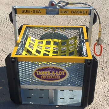 Subsea Diver's Basket - Tanks-A-Lot, Deepwater Container Specialists