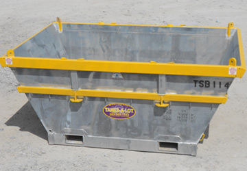 Trash & Scrap Bin - Tanks-A-Lot, Deepwater Container Specialists