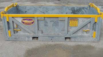 6' Wide Cargo Baskets - Tanks-A-Lot, Deepwater Container Specialists