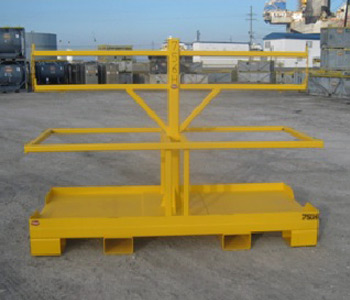 Horizontal Sling Racks - Tanks-A-Lot, Deepwater Container Specialists