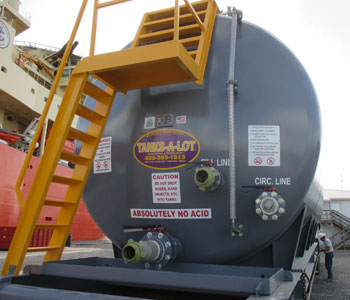 500 BBL CARGO TANK - Tanks-A-Lot, Deepwater Container Specialists