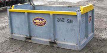 4' Wide Cargo Basket - Tanks-A-Lot, Deepwater Container Specialists