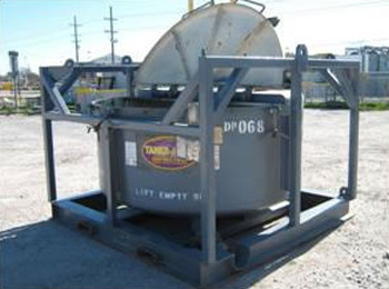 DUAL PURPOSE CUTTING/FLUID TRANSPORT TANK - Tanks-A-Lot, Deepwater Container Specialists