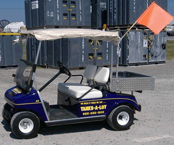 Golf Cart - Tanks-A-Lot, Deepwater Container Specialists