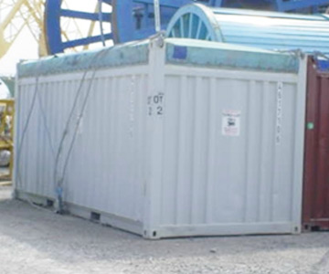 Open Top Storage Container - Tanks-A-Lot, Deepwater Container Specialists