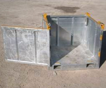 Single Open Top Box - Tanks-A-Lot, Deepwater Container Specialists