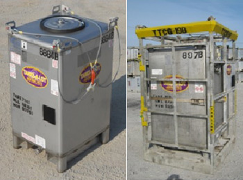550 GAL. IBC TOTE TANKS - Tanks-A-Lot, Deepwater Container Specialists