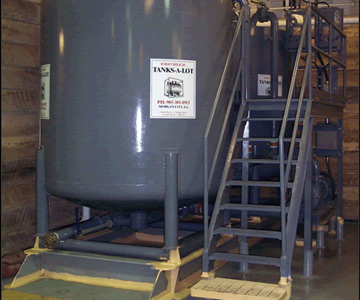 Twin 50 BBL Mud Blender - Tanks-A-Lot, Deepwater Container Specialists
